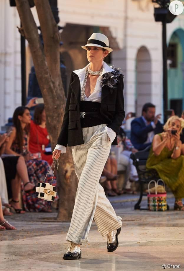 Le mafieux de légende : nouvelle défintion du style masculin/féminin version Chanel.