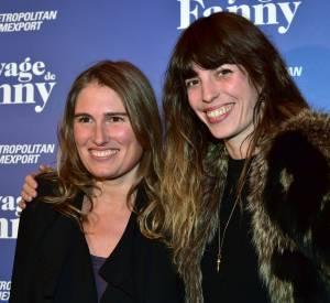 Lou et Lola Doillon sont toutes deux les filles du réalisateur Jacques Doillon.