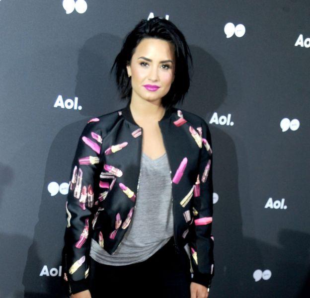 Demi Lovato au 2016 Aol NewFront ce mardi 3 mai 2016 à New York.