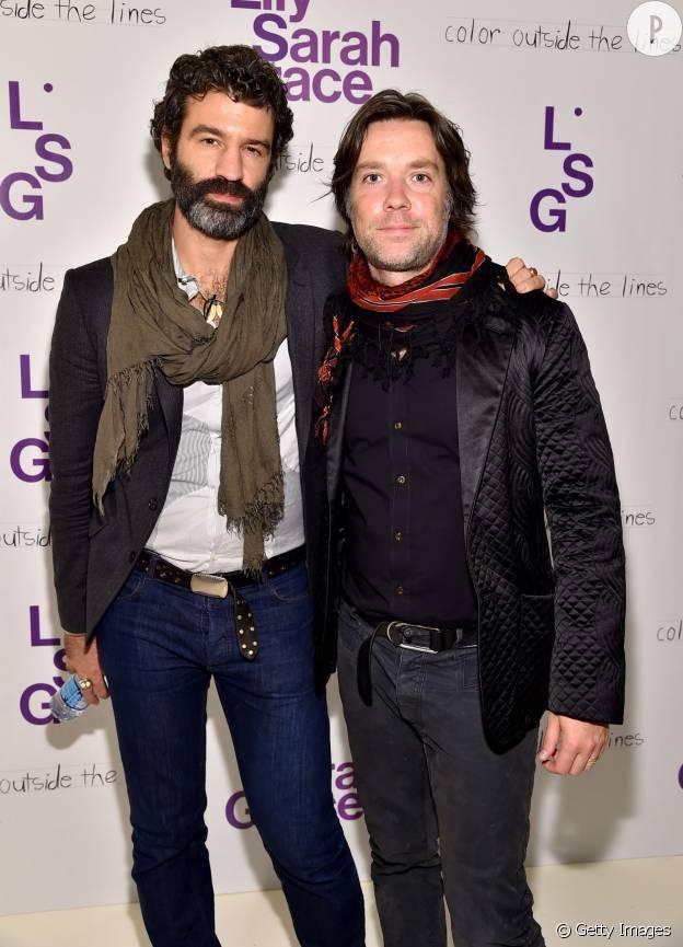 Rufus Wainright et Jorn Weisbrodt, en 2014, à New York.
