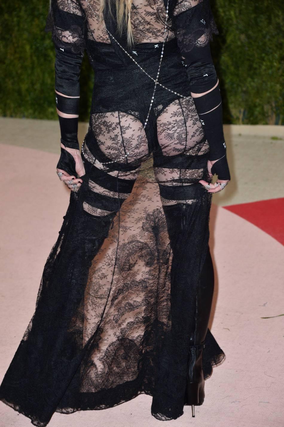 Madonna cul nu, une véritable prise de position.