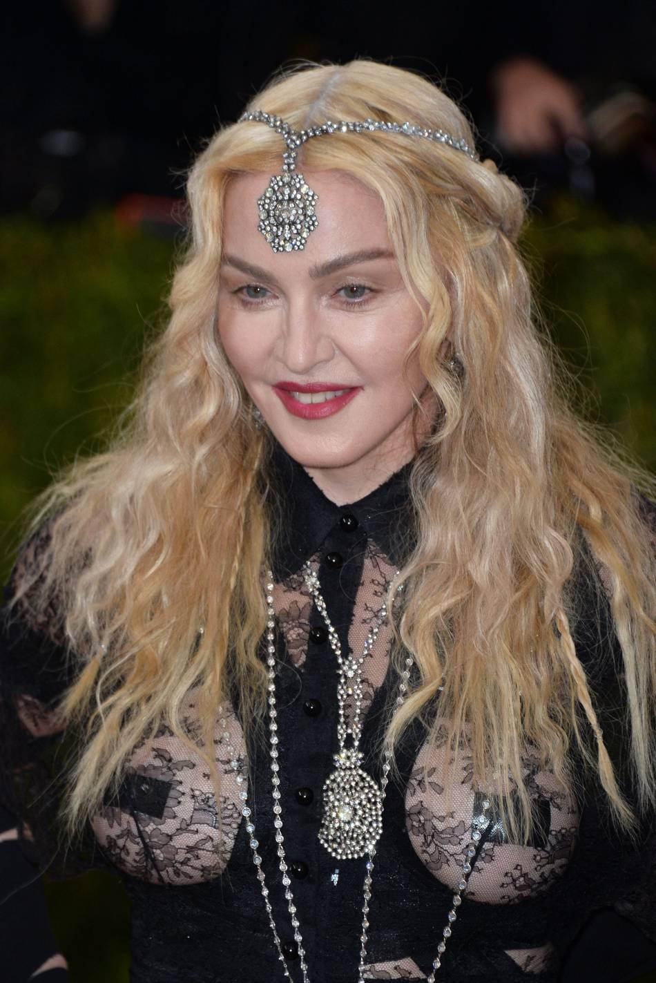Madonna, à 57 ans elle affiche clairement ses idées.