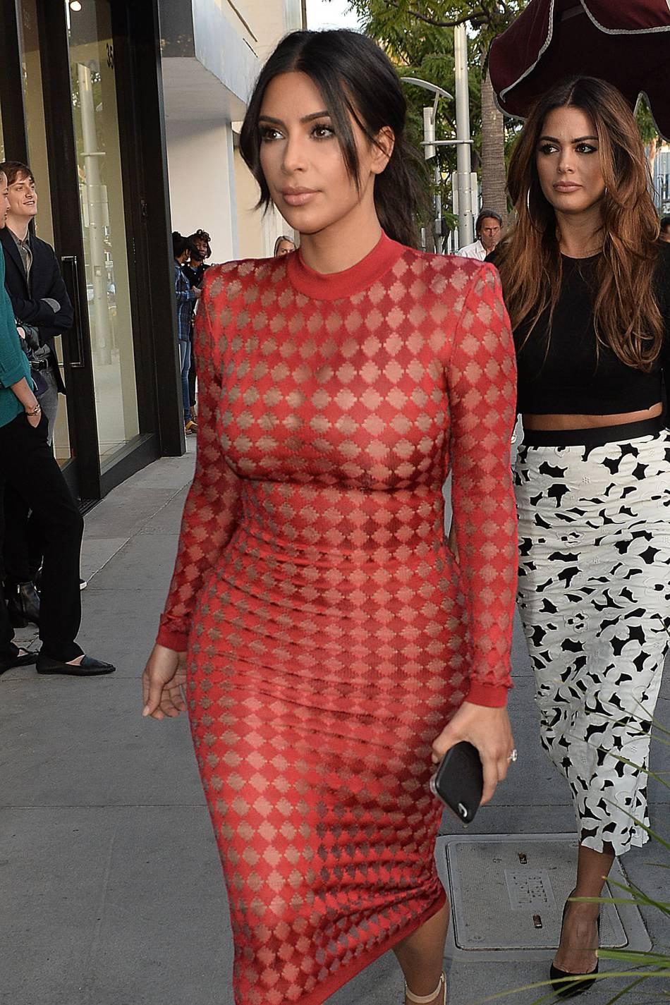 Ces photos étaient adressées à sa mère Kris Jenner mais aussi à sa grand-mère Marry Jo.
