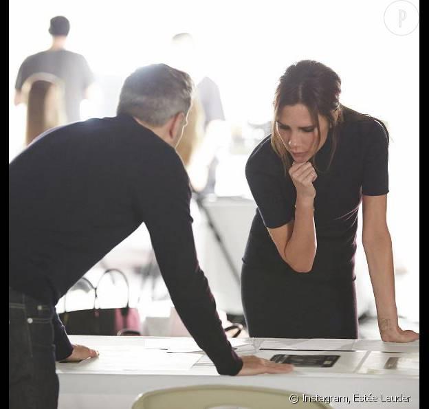 Victoria Beckham s'est associée à Estee Lauder pour créer sa ligne de make-up.