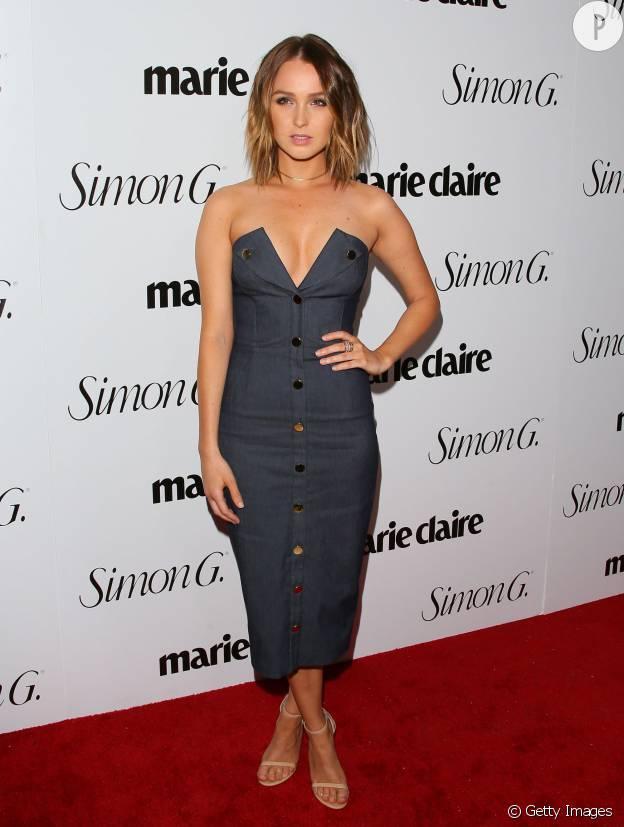 Camilla Luddington est la petite nouvelle du casting de Grey's Anatomy qui brille sur le red carpet.