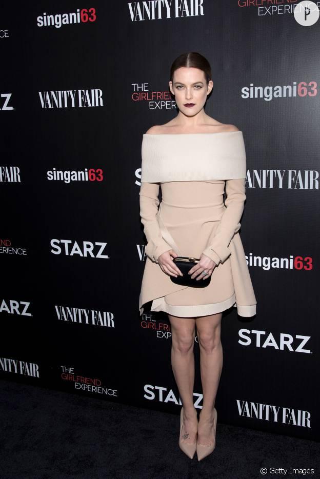 Révélation de 2016, Kiley Reough l'actrice de The Girlfriend Experience est une bombe sur tapis rouge.