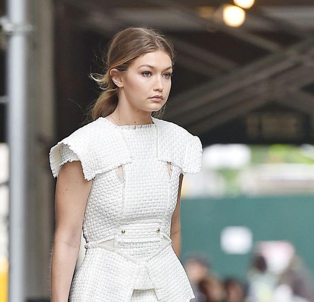 Gigi Hadid à la sortie du Gramercy Park ce mardi 10 mai 2016.
