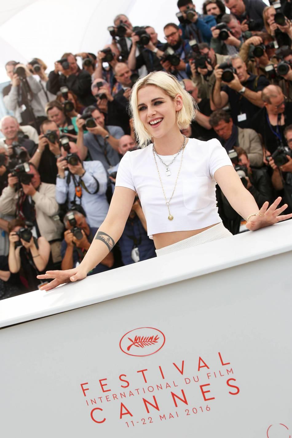 Kristen Stewart, un brin punkette pour Cannes 2016.