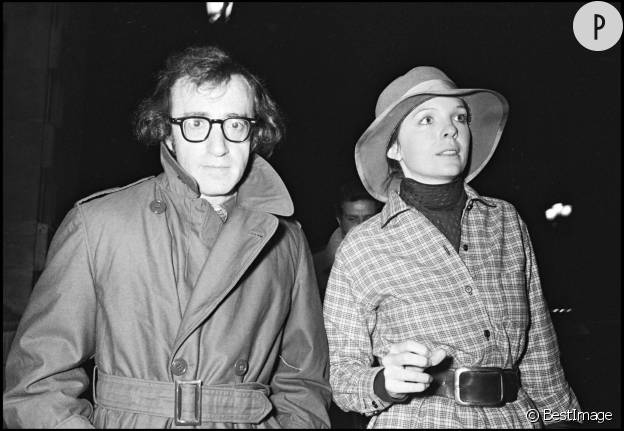 Woody Allen et Diane Keaton, sa première muse.
