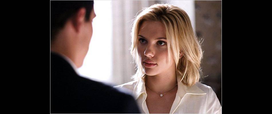 Scarlett Johansson, l'une des muses du cinéma de Woody Allen.