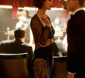 "Bérénice Marlohe, James Bond Girl sublimée par Swarovski dans ""Skyfall"" en 2012."