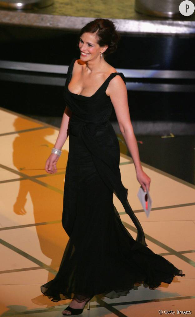 Julia Roberts aux Oscars 2005.