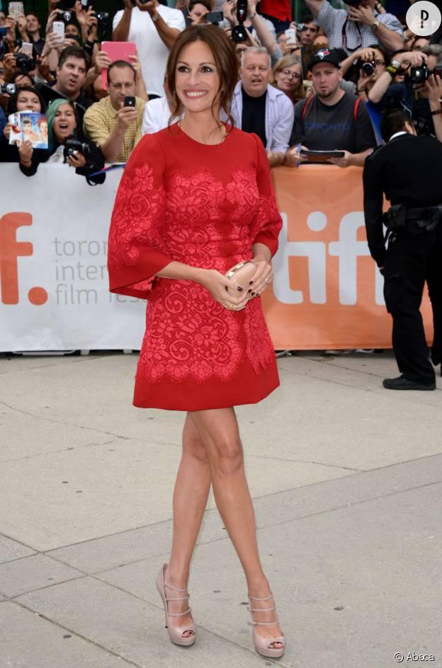 Julia Roberts au Festival du Film International de Toronto en 2013 en Dolce & Gabbana.