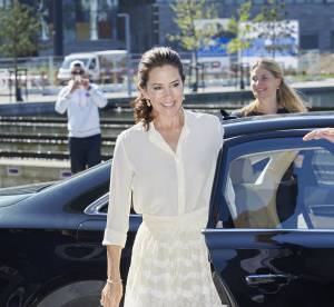 Mary de Danemark : la jolie rivale de Kate Middleton ose le jupon transparent