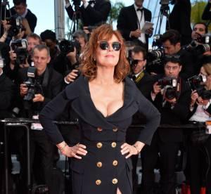 Cannes 2016, Susan Sarandon : décolleté affolant et complicité avec Naomi Watts