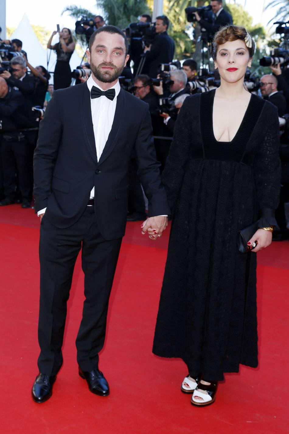 Vanessa Paradis et Guillaume Gouix ont monté les marches en amoureux.