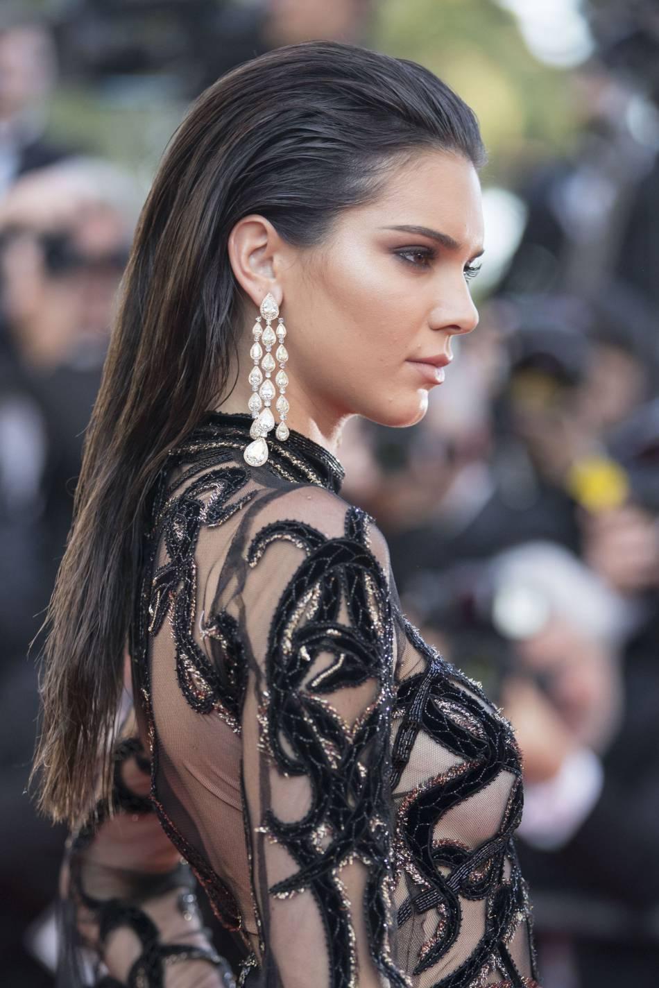 Kendall Jenner parée par Chopard.