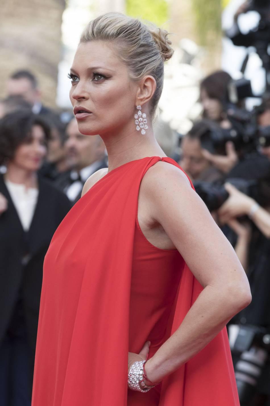 Kate Moss parée par Chopard.