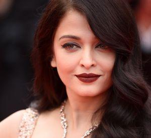 "Aishwarya Rai porte un collier ""Halo Delilah"" de Boucheron."
