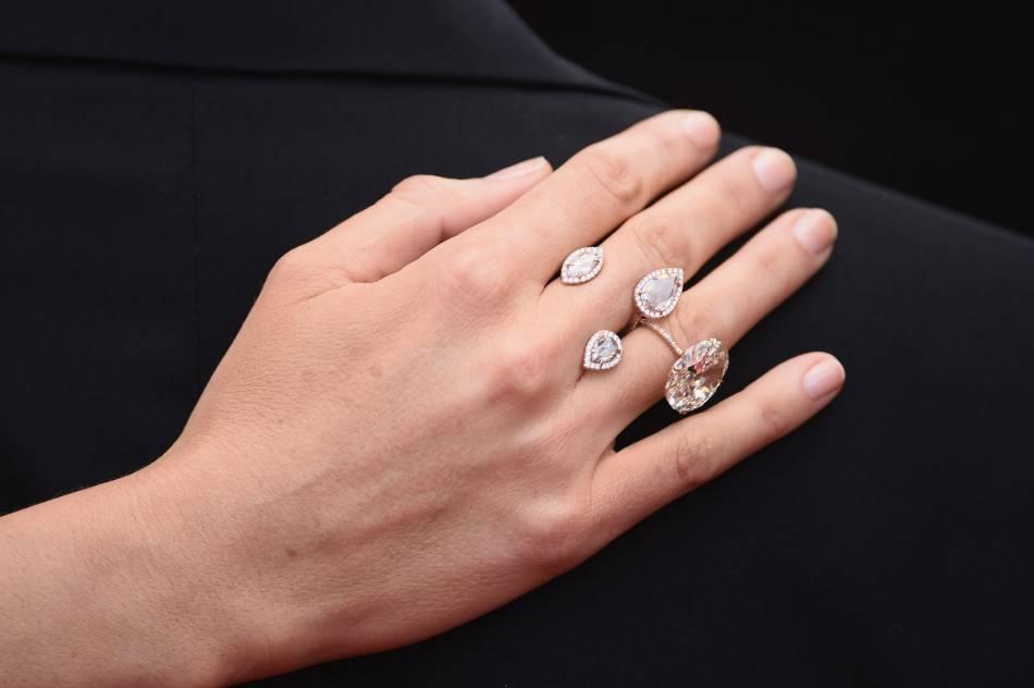 La bague en diamants nude Lorraine Schwartz de Blake Lively.