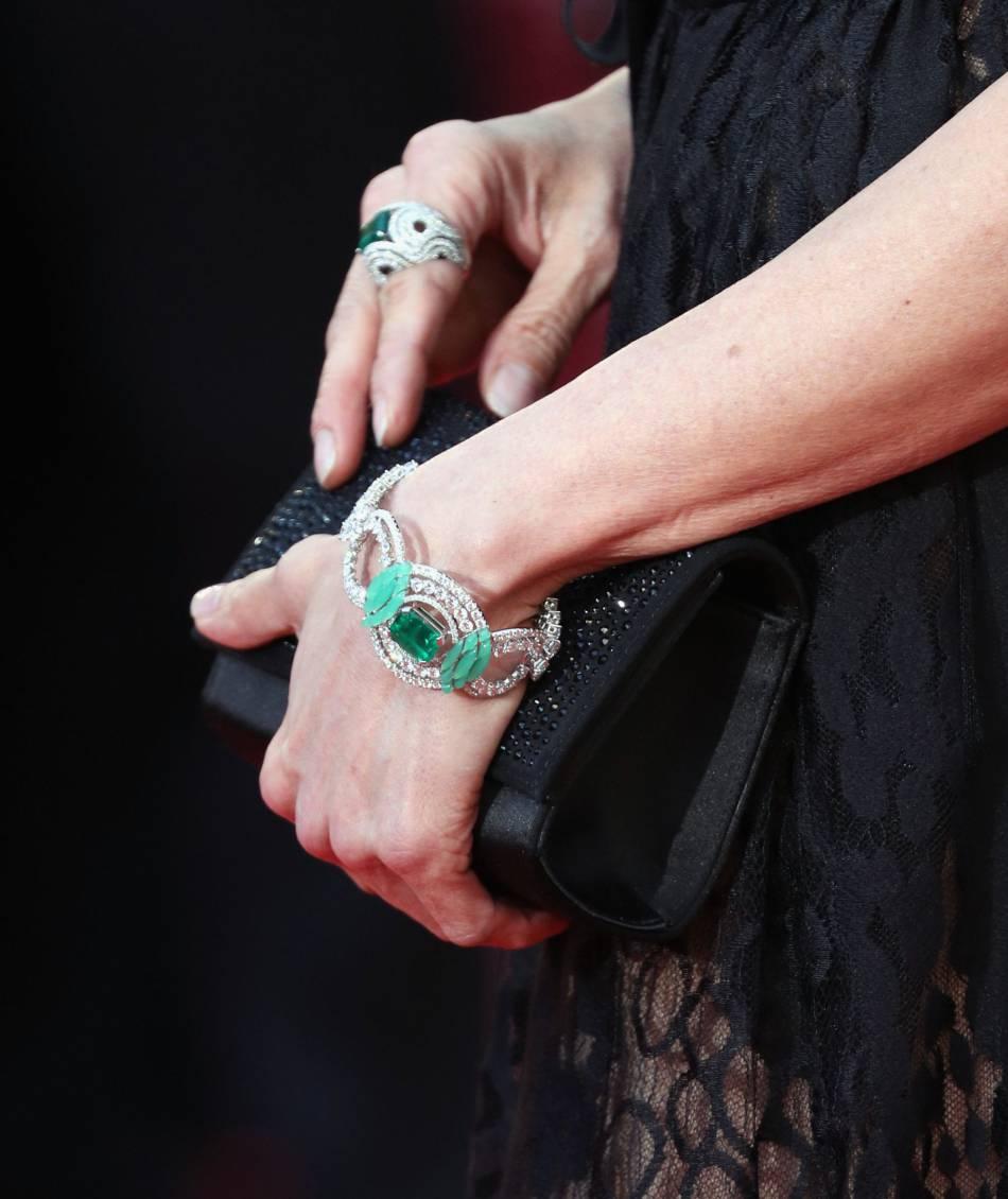 Les bijoux Chaumet de Michelle Yeoh.