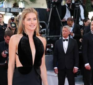 Cannes 2016 : Doutzen Kroes, sculpturale sur le tapis rouge.