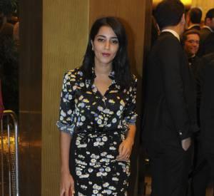 Leïla Bekhti : c'est dans une robe fleurie que l'égérie L'Oréal a été vue à Cannes 2016.