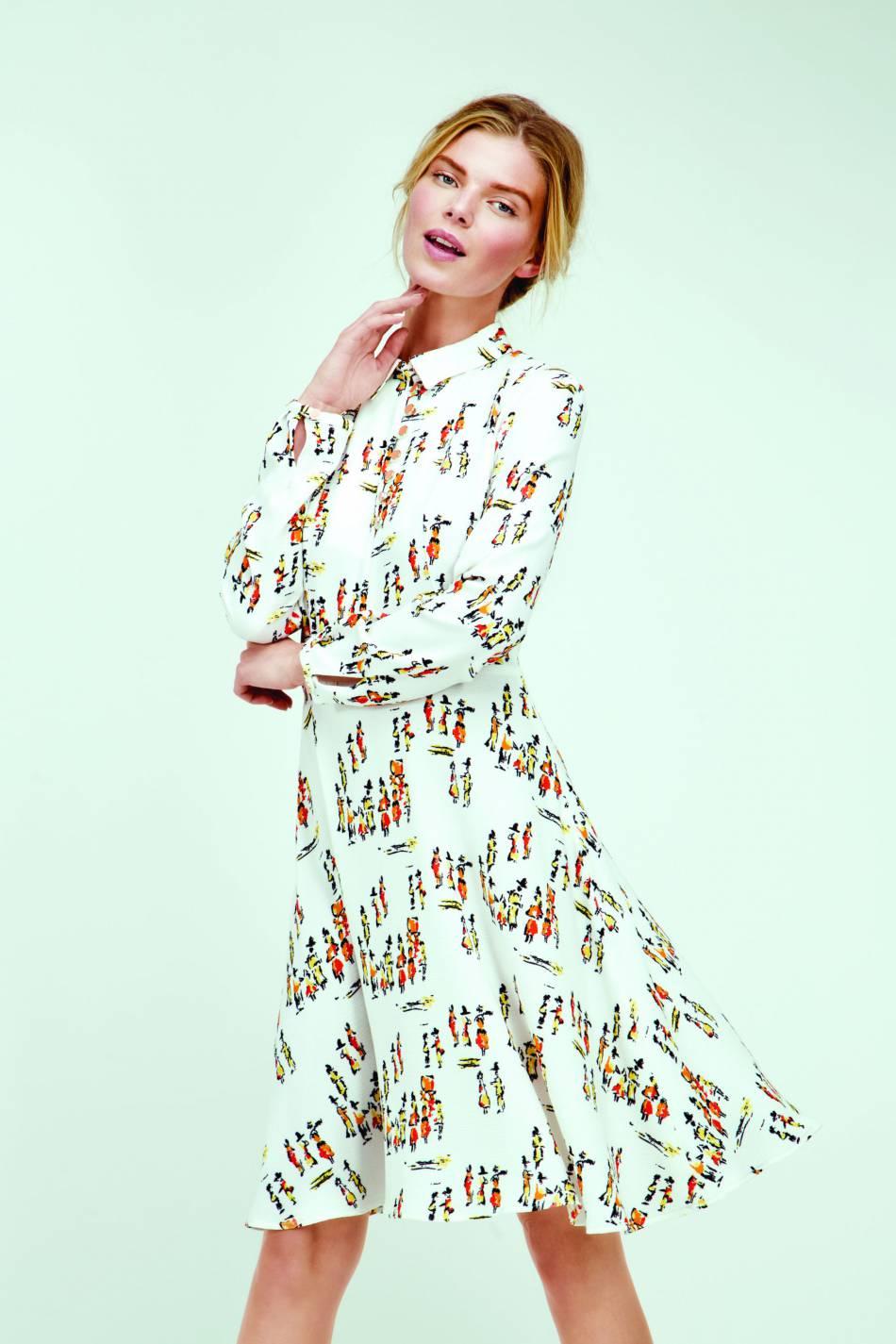 Robe polo imprimée, Dolores Promesas, 245,90€.