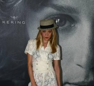 """Chloë Sevigny mixe romantisme et détails sexy pour un évènement """"Women in motion"""" à Cannes 2016."""