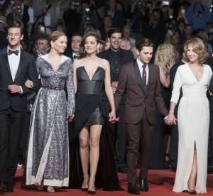Cannes 2016 : Marion Cotillard, Emmanuelle Béart, montée des marches, jour 9