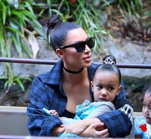 """Kim Kardashian : test de grossesse sur Snapchat et """"crise de panique"""""""
