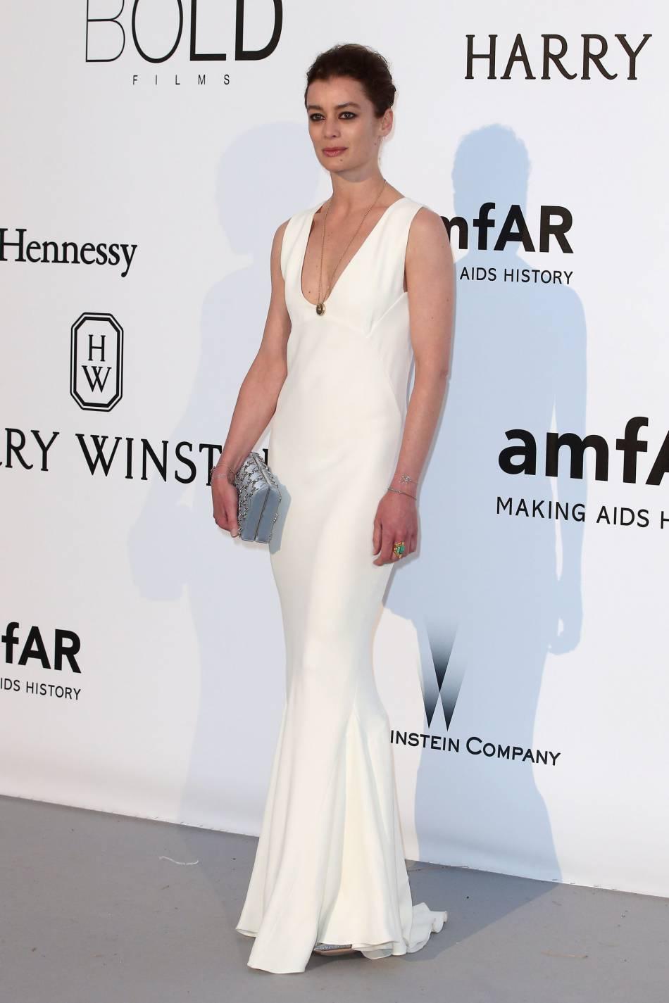 Aurélie Dupont au gala de l'amfAR Cinema against AIDS le 19 mai 2016 à Cannes.