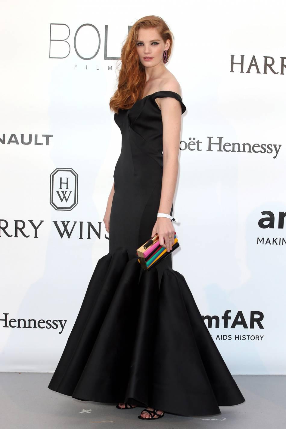 Alexina Graham au gala de l'amfAR Cinema against AIDS le 19 mai 2016 à Cannes.