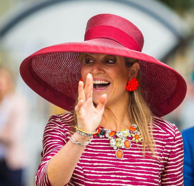 La reine Maxima des Pays-Bas lors du lancement d'une semaine d'activités pour les jeunes à Utrecht, le 19 mai 2016.