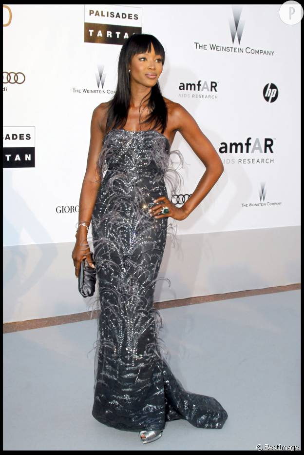 Naomi Campbell à Cannes