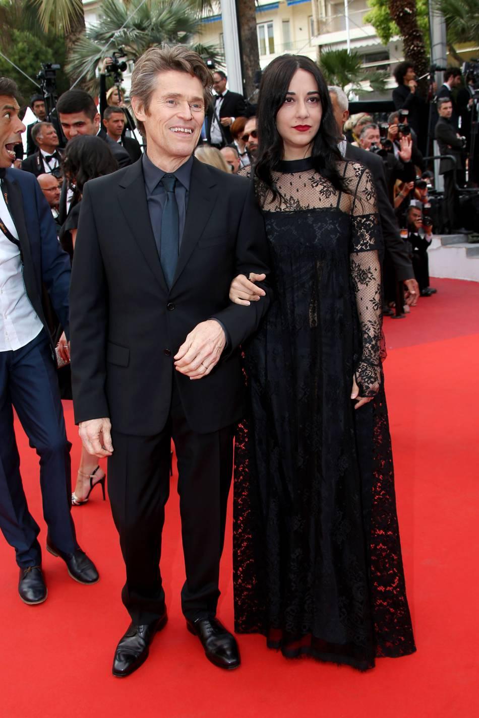 Willem Dafoe et sa femme Giada Colagrande au 69ème Festival International du Film de Cannes.