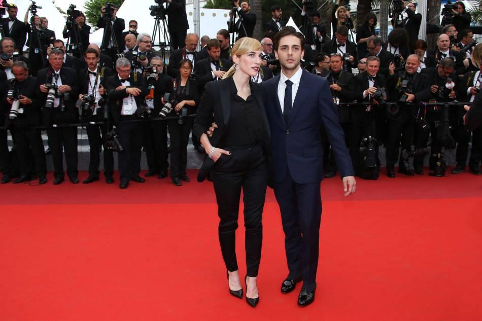 Nancy Grant et Xavier Dolan lors de la cérémonie de clôture du 69e Festival de Cannes.
