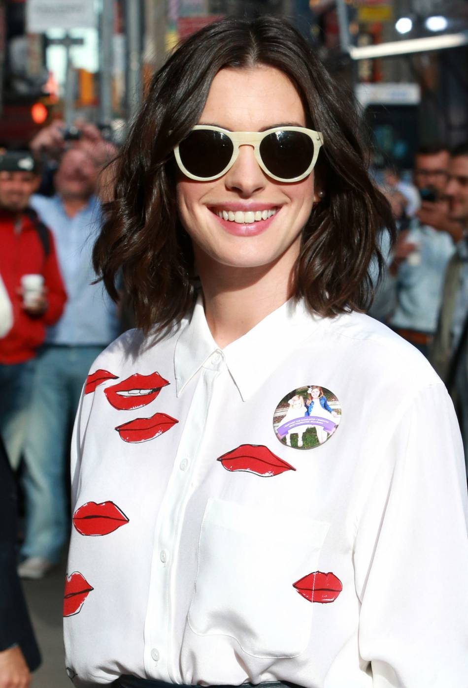 "Dans le film "" Alice Through The Looking Glass"", Anne Hathaway incarne la Reine Blanche."