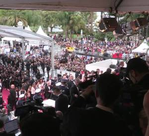 Victoria Beckham au Festival de Cannes.