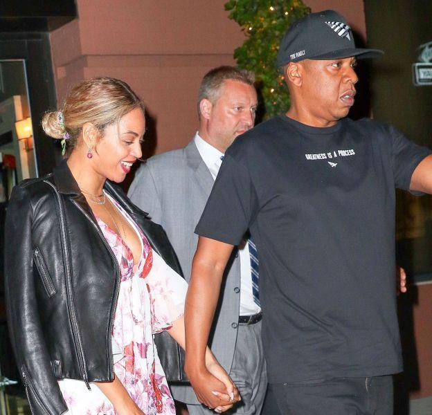 Beyoncé et Jay-Z ont été vus main dans la main à New York.