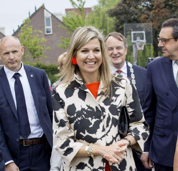 Maxima des Pays-Bas a recyclé une tenue déjà portée.
