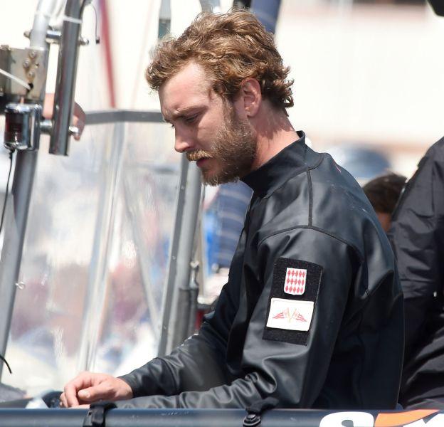 Pierre Casiraghi, sur les traces de son père Stefano : il est aussi passionné de sports nautiques.