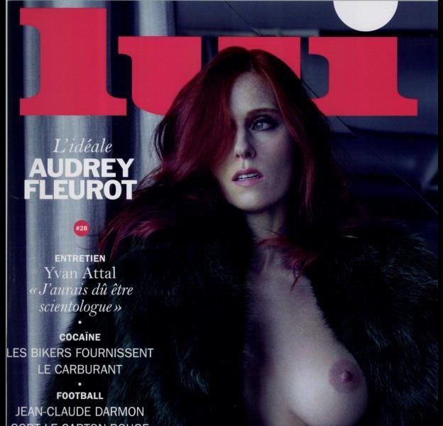 Audrey Fleurot, cover girl du numéro du mois de juin du magazine Lui.