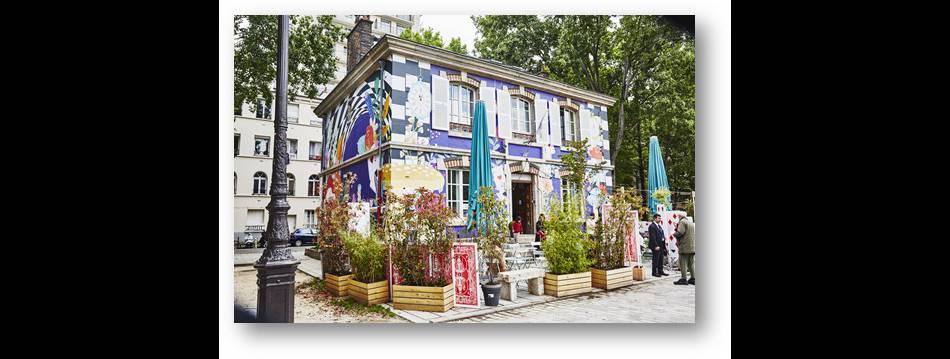 Le Pavillon des Canaux spécialement revisité version Alice aux Pays des Merveilles jusqu'au 17 juin prochain.