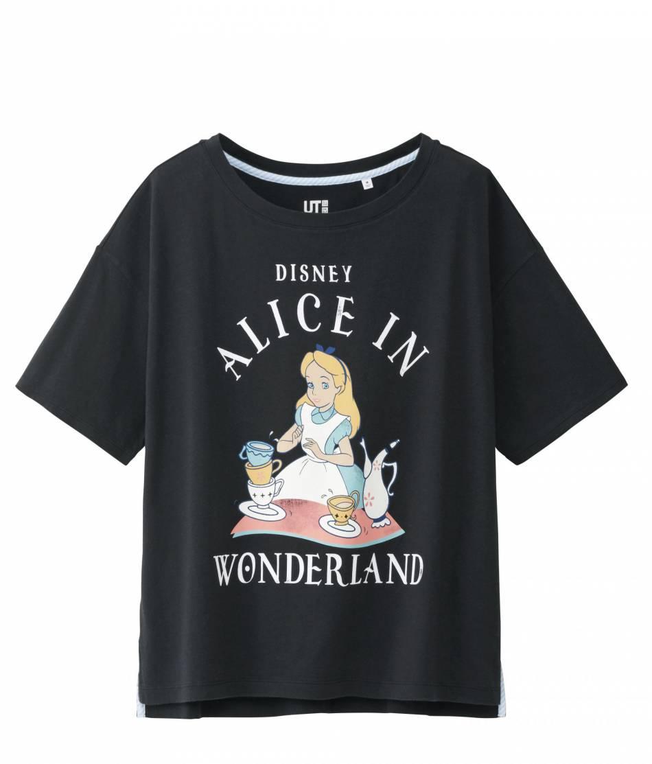 T-shirt, Uniqlo, collection entre 9,90 et 14,90 €.