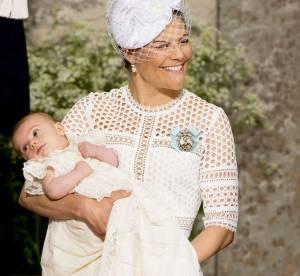 Victoria, Madeleine, Sofia : jolie réunion de famille au baptême du prince Oscar