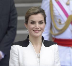 Letizia d'Espagne : resplendissante en tailleur cintré à Madrid