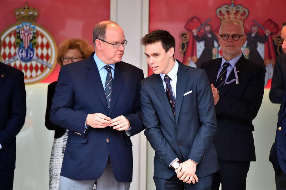 Louis Ducruet, le fils de Stéphanie de Monaco, grand passionné de sport comme son oncle Albert, était présent lui aussi.