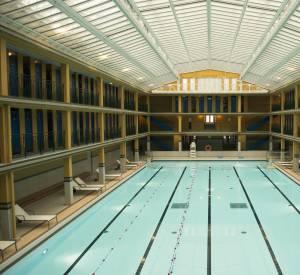 La piscine d'hiver de Molitor est réservée pour l'occasion.