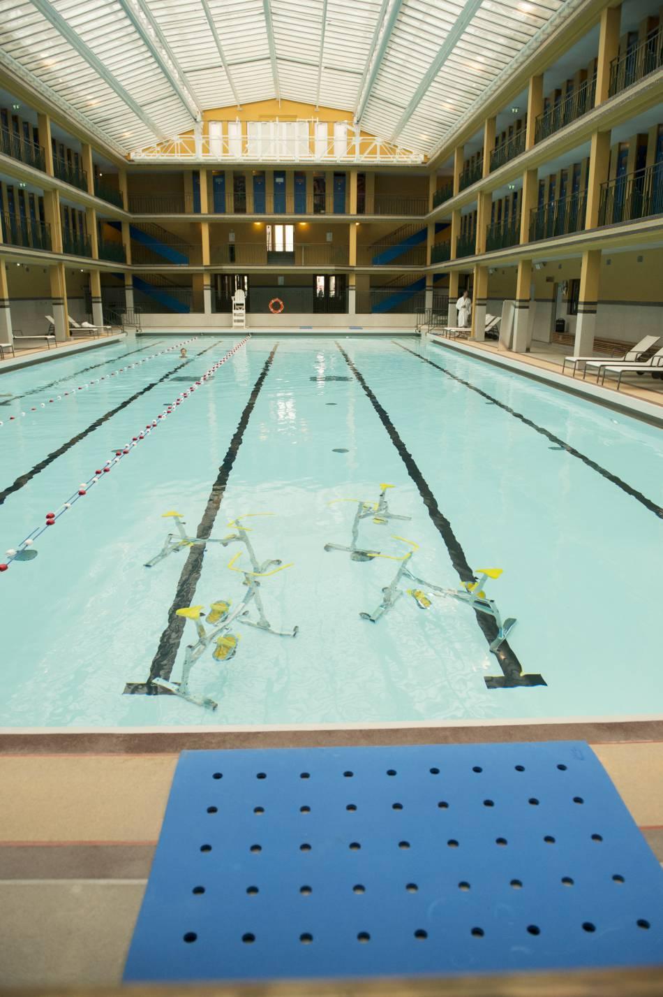 Du v lo dans l 39 eau et du gainage l 39 ext rieur le rythme for Velo piscine occasion